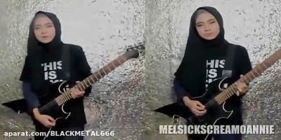 تصویر از LAMB OF GOD – 'LAID TO REST' _ Guitar Cover by Mel